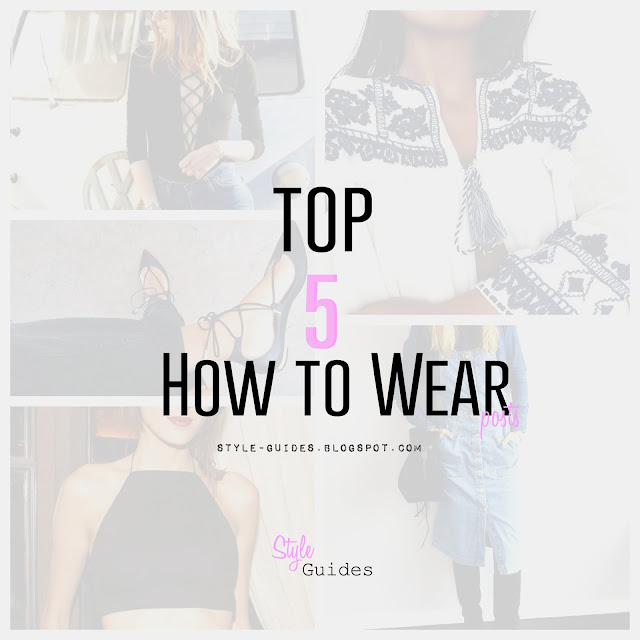 top 5 trends fashion how wear