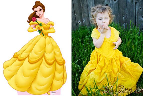 sc 1 st  Le Petite Arbre & Princess Belle costume
