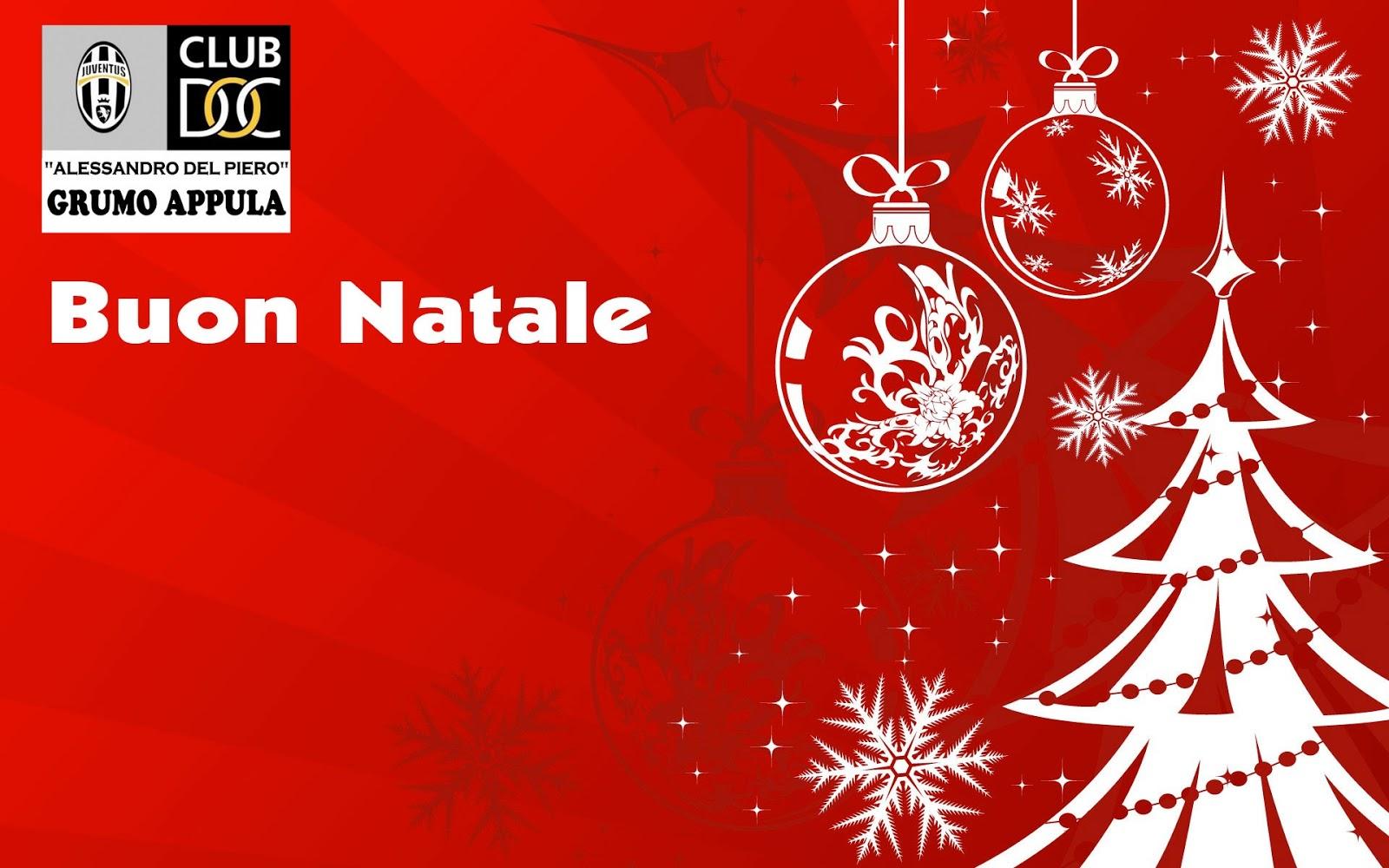 Auguri Di Buon Natale Juve.Auguri Dallo Juventus Club Doc Grumo Appula