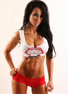 Christina looking Awesone in NutriSups gear