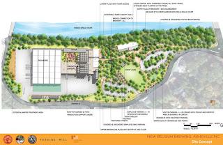 New Belgium Asheville Site Concept