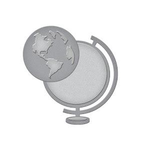 SBS1-001 Spellbinders D-Lites - World View