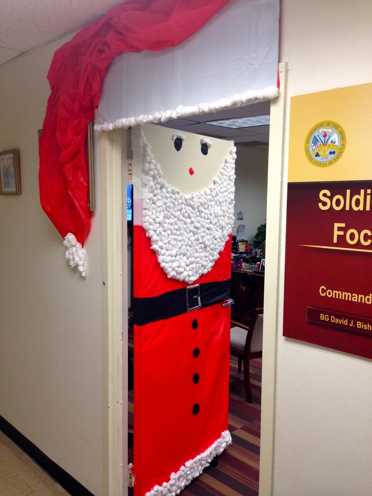 Christmas door decorating contest door decorations holidays humor