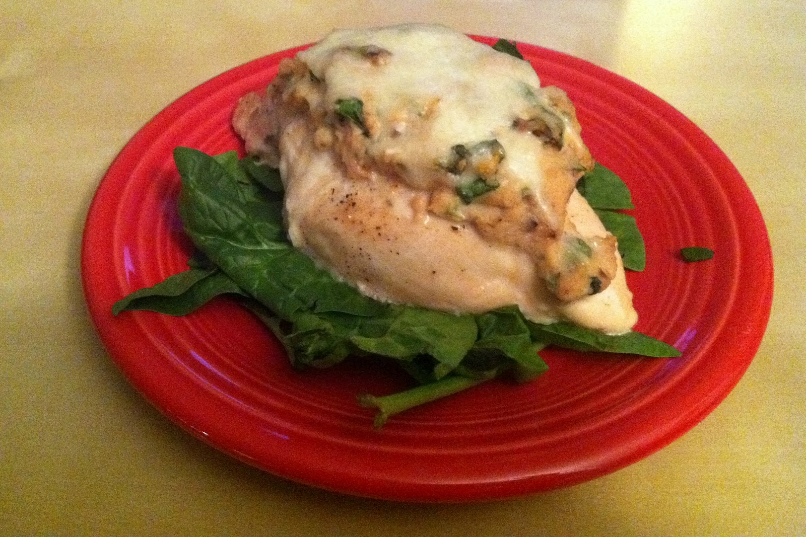 The Spatularettes: Ricotta Stuffed Chicken (and the Broad ...