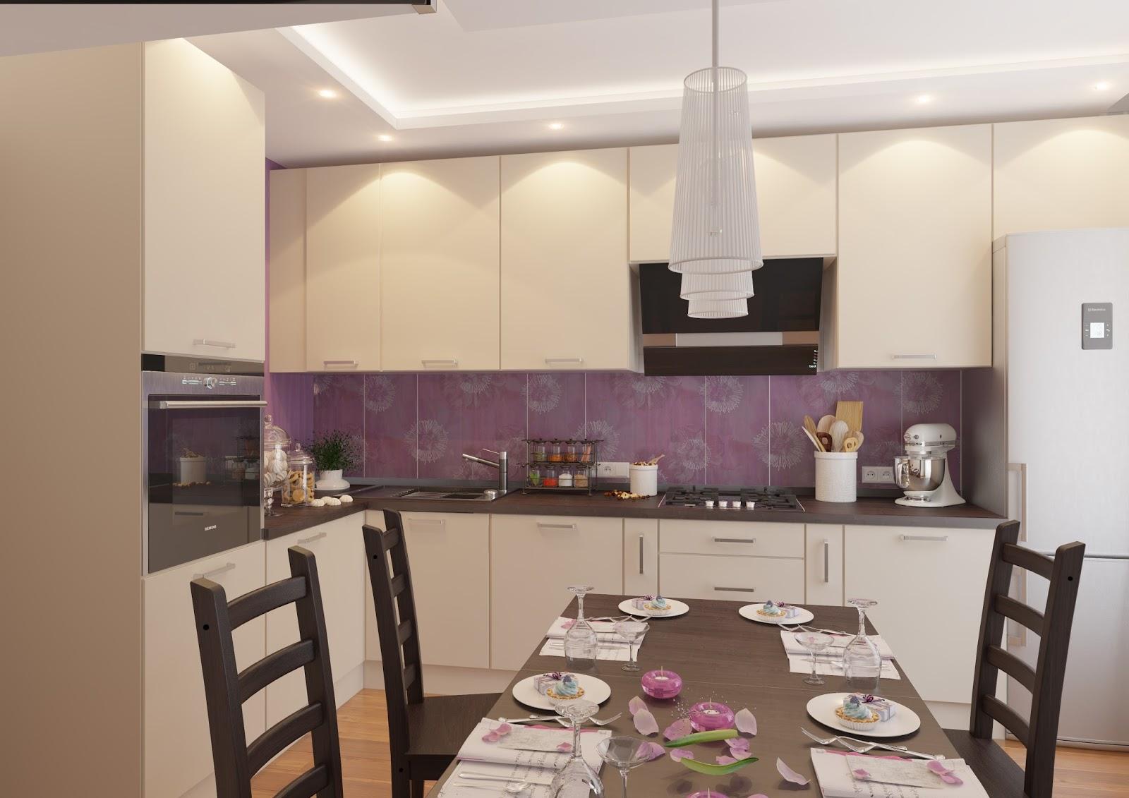 Угловая кухня 9 кв.м дизайн