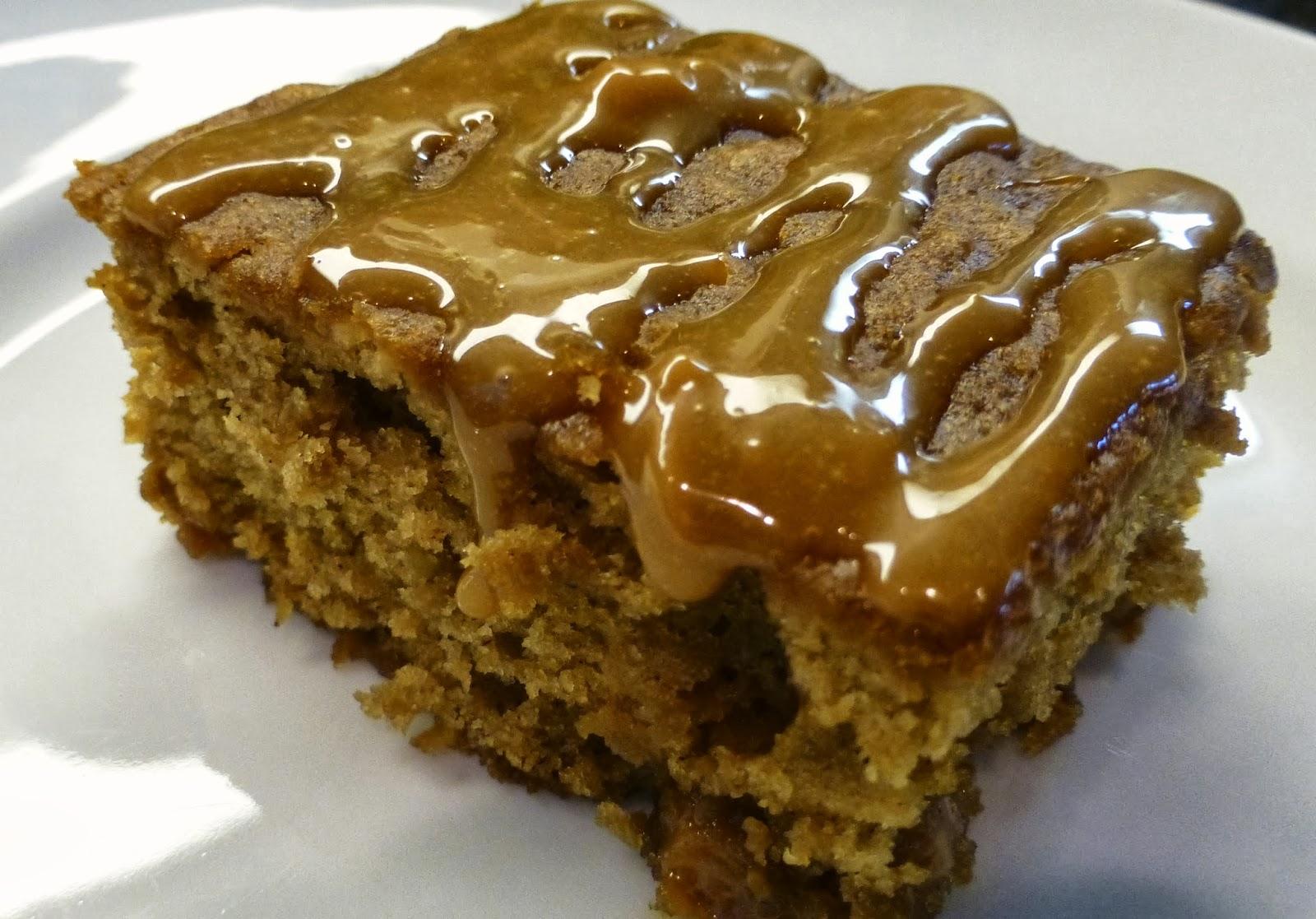 Monster Mama: Caramel Apple Brownies