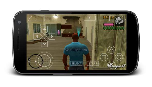 Bermain Game PS 2 di android