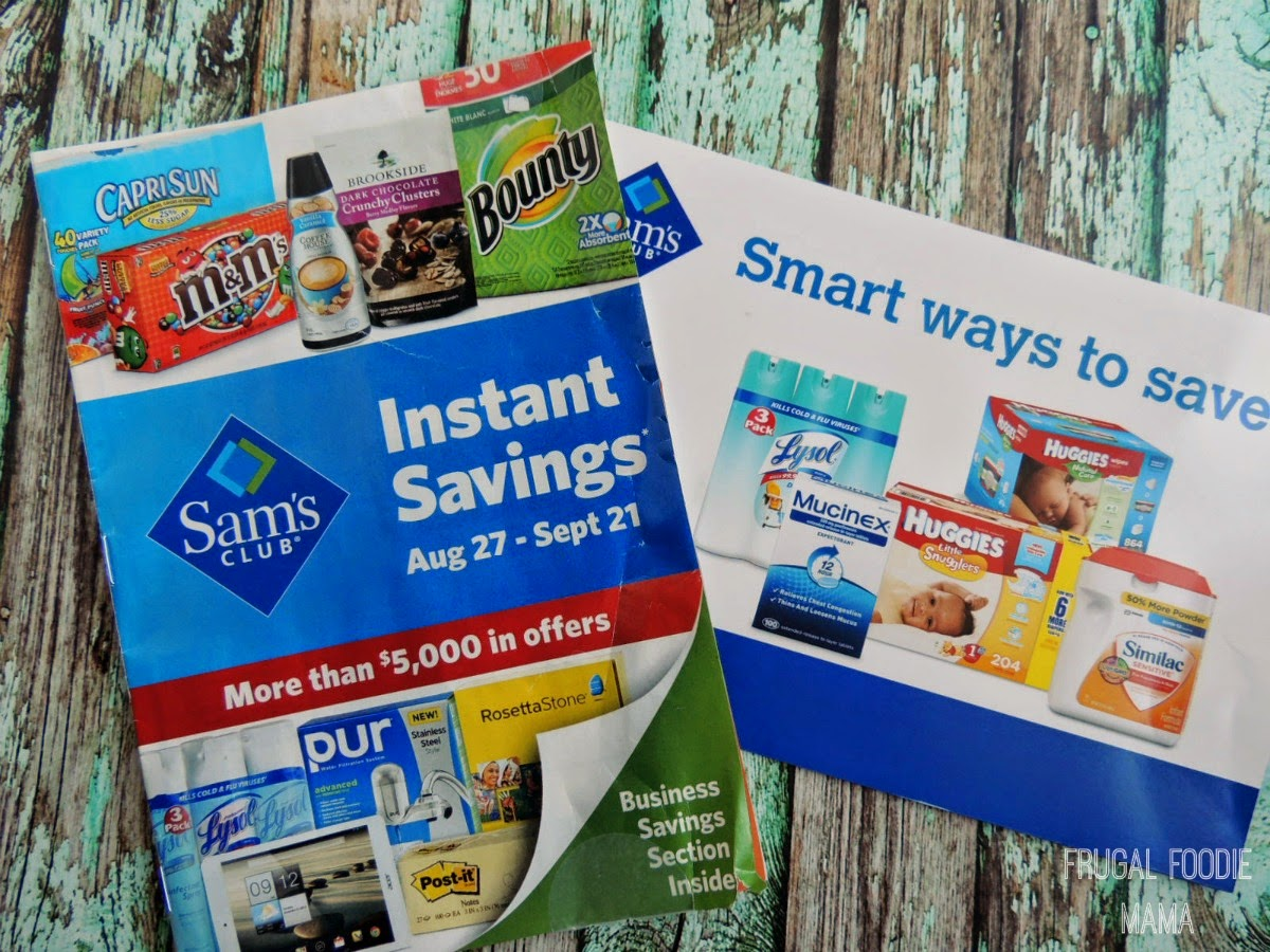 Saving Money with Sam's Club via thefrugalfoodiemama.com #TrySamsClub #shop