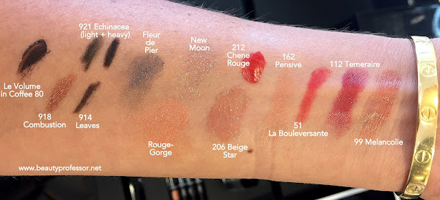 chanel fall 2015 swatches