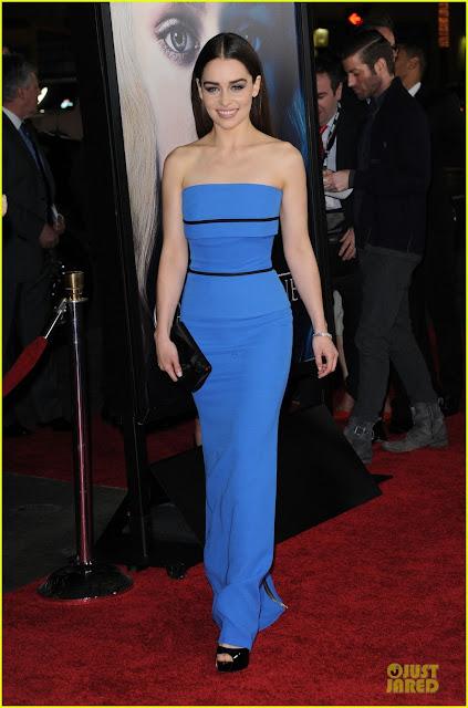 Emilia Clarke premiere los angeles - Juego de Tronos en los siete reinos