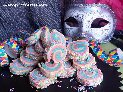 e la ricetta dei biscotti di Carnevale