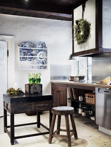 combinar estilos en la cocina