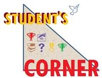 STUDENT'S CORNER