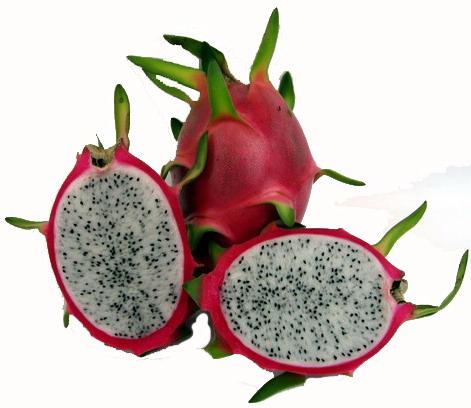 how to eat white dragon fruit