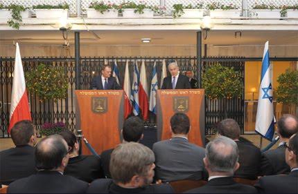 Wizyta Tuska z ministrami w Izraelu