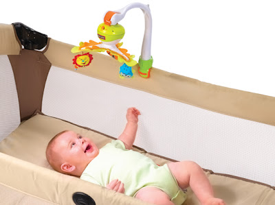 Tiny Love Mobile in Bassinet