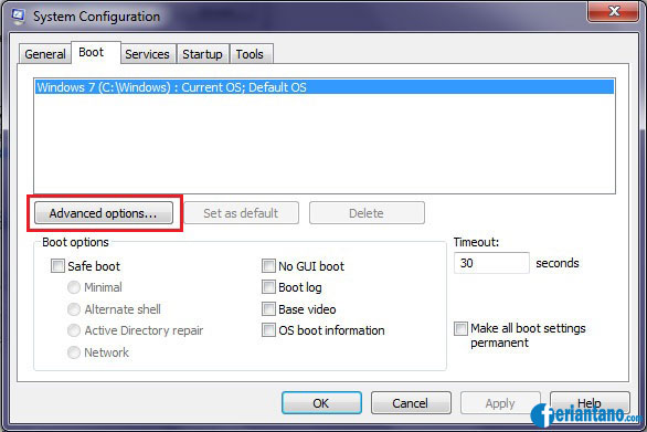 Tips Cara Mempercepat Booting Windows 7 - Feriantano.com