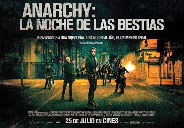 Crítica de Anarchy: la noche de las bestias