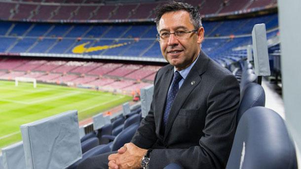 Bartomeu asegura que la Premier League es el máximo rival del Barça