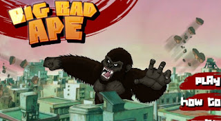 Big Bad Ape awesome and attractive kingkong action online games free play