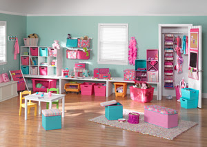The Decor Scene: Little Girls Playroom Moodboard