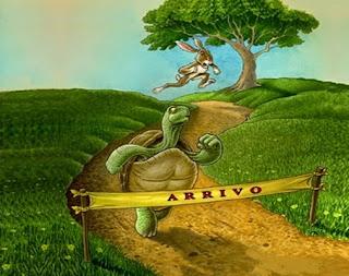 La lepre e la tartaruga (Esopo)