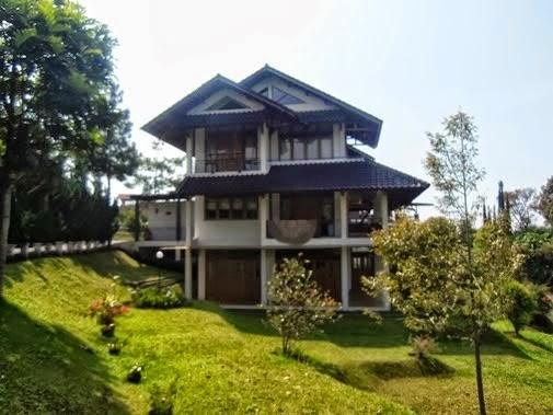 Villa Amanda istana bunga Lembang