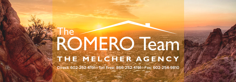 The Greater Phoenix Area Real Estate Video Blog with Mario Romero