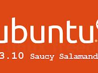 FREE! Downloads Ubuntu 13.10 Saucy Salamander Final Rilis (Server Indonesia)
