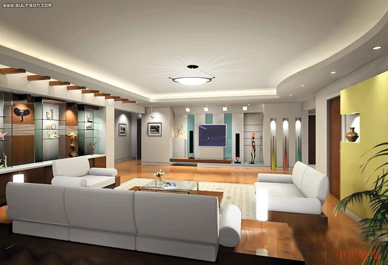 Large living room design ideas for Large family room design