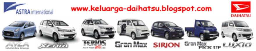 PT. Astra International Tbk - Daihatsu | Xenia, Terios, Ayla, Luxio, Sirion, Granmax MB & Pickup