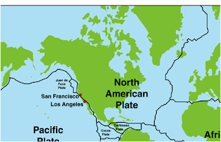 where do the pacific and north american plates meet millers