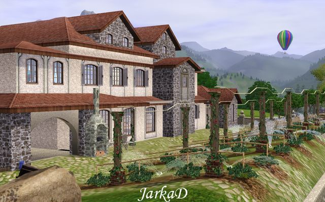 My Sims 3 Blog Tuscan House With Vineyard By Jarkad