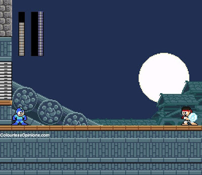 megaman vs ryu street fighter 25th anniversary