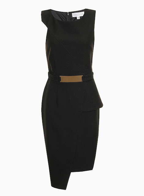 black paperdolls dress