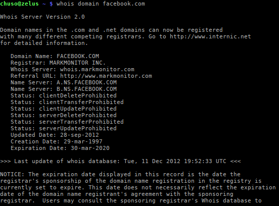 whois domain facebook.com