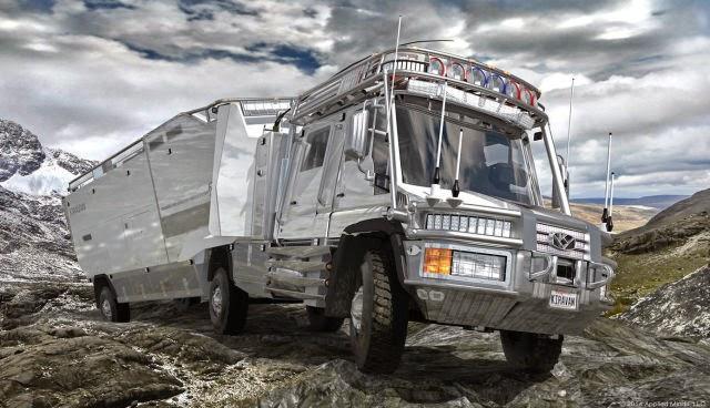 Off road karavan
