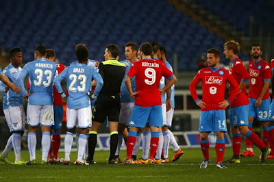 Lazio vs Napoli, Rasisme