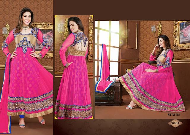 New Designer Stylish Floor Length Anarkali Suit