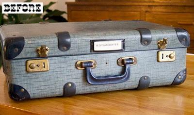 reciclar una maleta