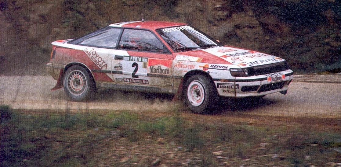 Noticias Rally A Escala Toyota St165 Celica Gt Four 1989