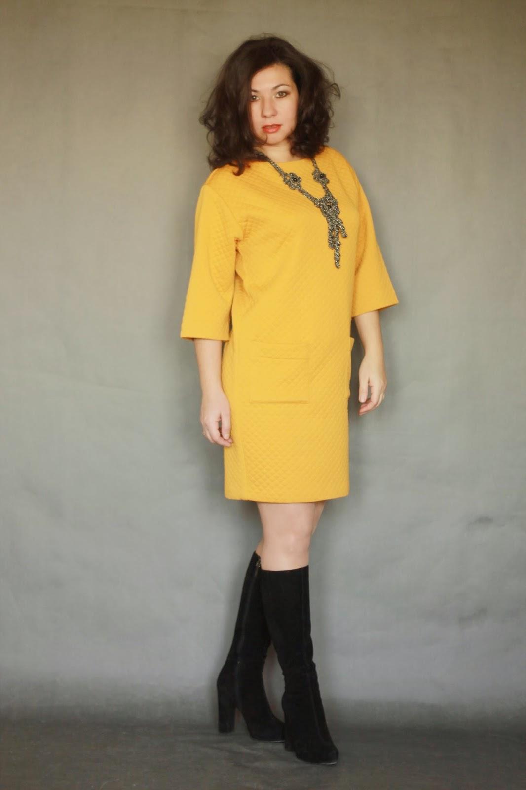 Сшить самой из трикотажа платье
