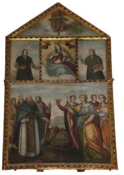 I lavori conservati nella basilica di santa maria di for Perla arredamenti santa maria degli angeli