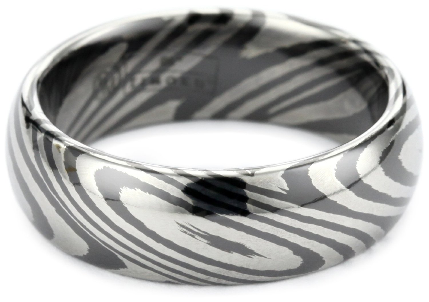 wedding stripe jewelry bands bar set black white nl band wg accent with mens gold diamond round in ring stone