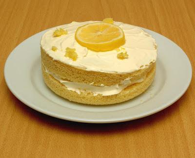Diabetic Lemon Sponge Cake