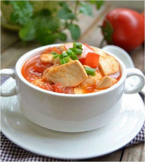 Cách làm đậu phụ xốt cà chua đơn giản mà ngon 3