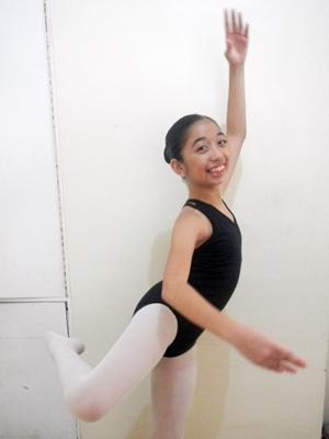 Nutri10Plus, Nutri10Plus vitamins, ballet dancer vitamins, ballet school Philippines, Effie Nañas ballet