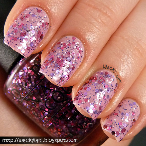 Wacky Laki: OPI Spotlight on Glitter Collection Swatches and Review.