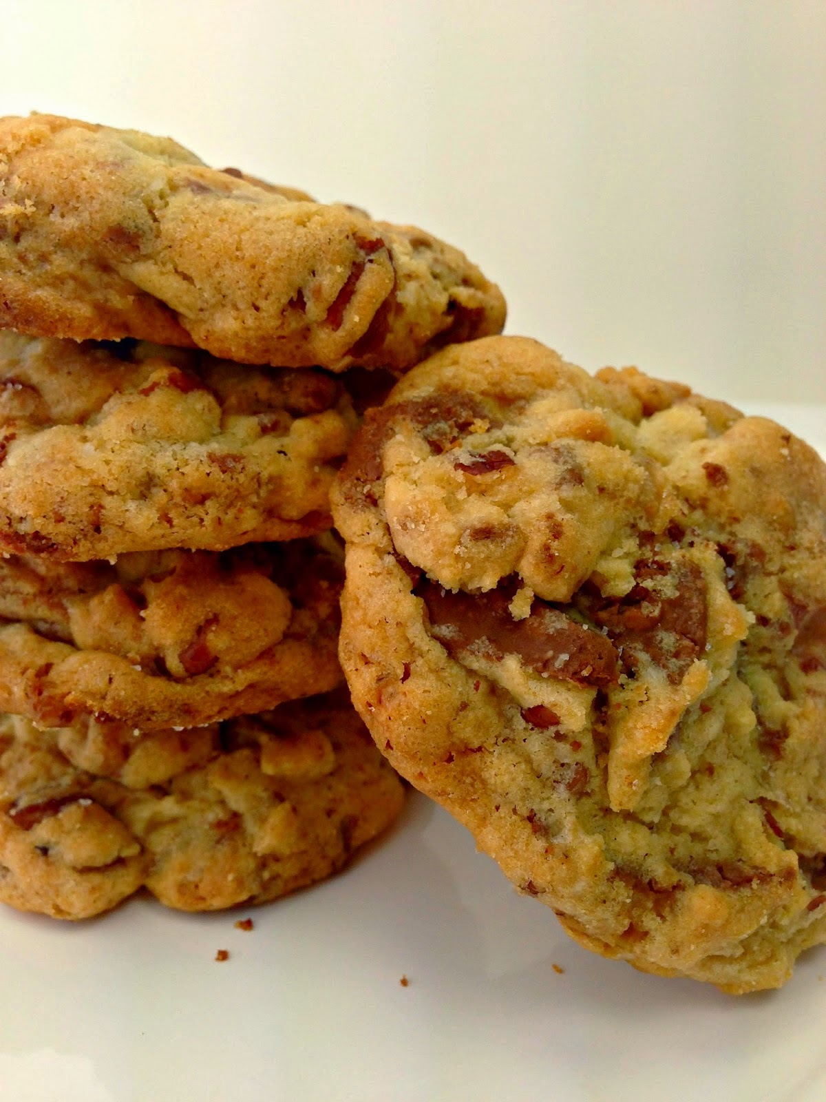 Heath Bar Cookies-From Everyday to Gourmet