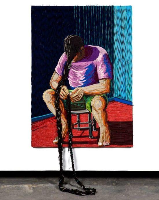 federico uribe pinturas cadarços laços tênis sapatos